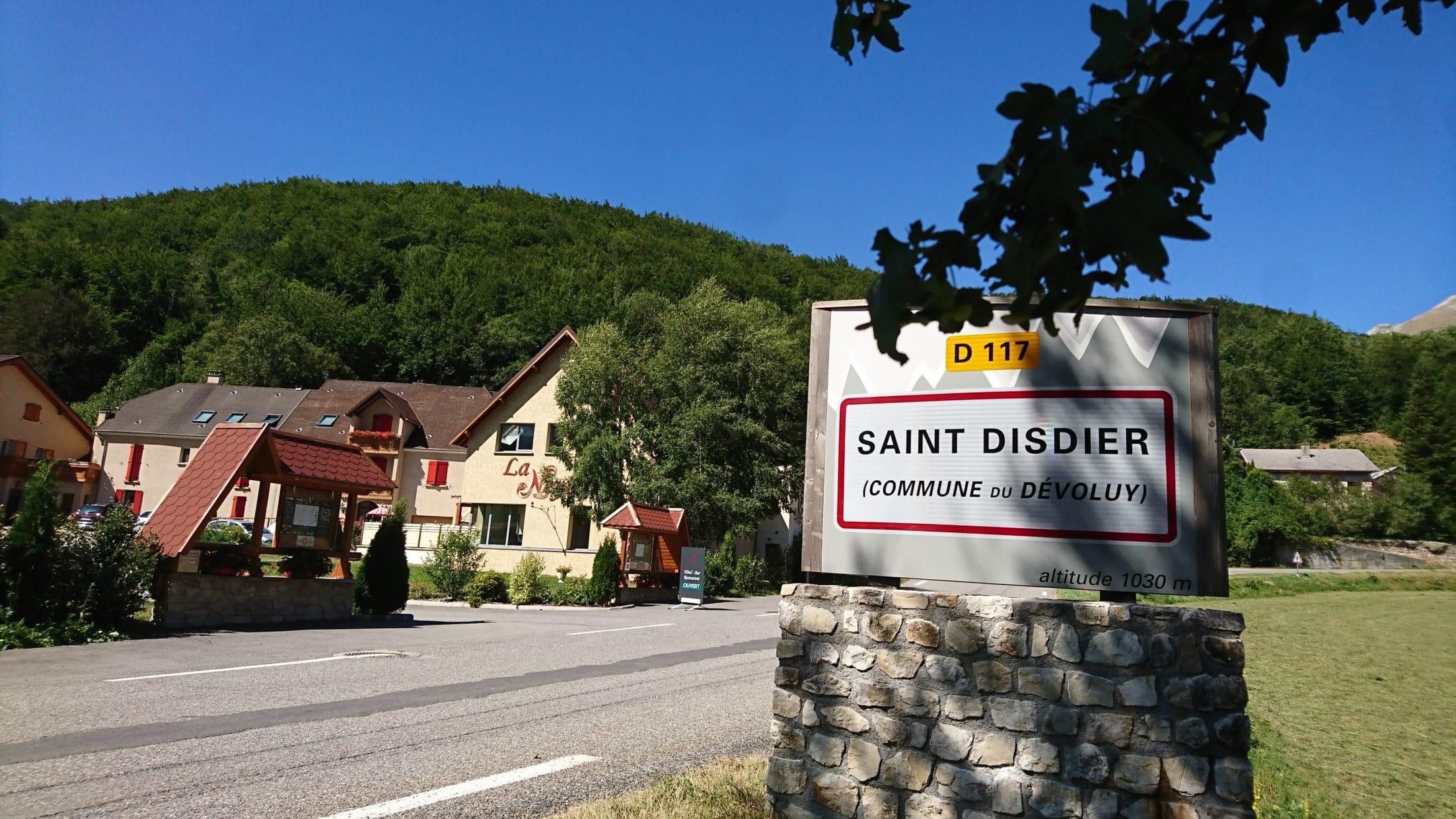 Vue-Hötel_Saint Disdier_Dévoluy